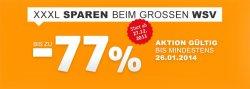 XXL-Shop bis zu 77% Rabatt + Gutscheincode für Versandkosten