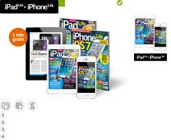 1 Jahr lang kostenlos iPadLife + iPhoneLife kein Abo Digitale Ausgabe statt 59,98€