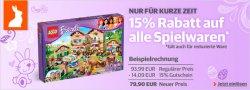 15% Rabattgutschein auf alle Spielwaren @buch.de