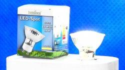 1x Gratis + bis 10x zum Preis von 3,90€: LED-Spot, GU10, 60 LEDs, 3,3W @pearl