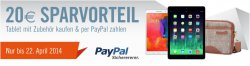 20€ Gutschein auf Tablets bei Cyberport