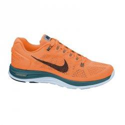 42% sparen! Nike Lunarglide+ 5 orange für 79,38 € (inkl. Versand) statt 129,99 € + GRATIS Trinkflasche