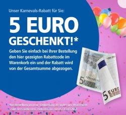 5 €uro geschenkt im Real Onlineshop bis zum 03.03.2014