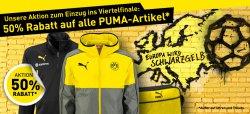 50% Rabatt auf alle Puma Artikel @BVB Online Shop