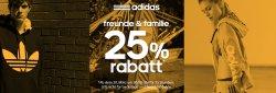 Ab 20.03 (heute Nacht 0:00 Uhr) 25 Stunden 25% Rabatt mit Gutschein auf Adidas Produkte