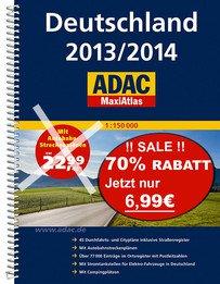 ADAC MaxiAtlas Deutschland 2013/2014 für 6,99€ [idealo 25,99€ @marcopolo