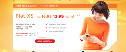 Allnet-Telefon-Flat + 500MB Internetflat für dauerhaft 12,95€ mtl.– monatlich kündbar @simdiscount.de