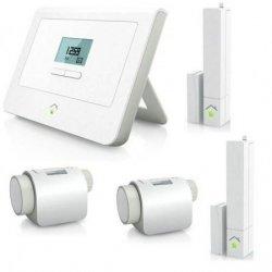 Bei Cyberport: RWE SmartHome Einsteiger-Paket 1x Zentrale 2x Thermostat 2x Tür-/Fenstersensor für nur 119,90€