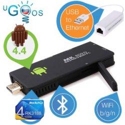 Beim iBOOD Extra: Ugoos MK809IV Android 4.4 Mini-PC + Ethernet-Adapter für nur 69,95€ + 5,95€ Versand