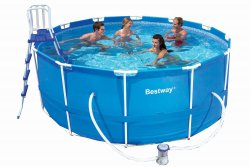 Bestway 56088 Frame Pool Stahlrahmenbecken Set 366 x 122 cm für 220,80 € (323,90 € Idealo) @Amazon