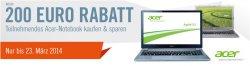 Bis zu 200€ Rabatt auf Teilnehmende Notebooks @ Cyberport
