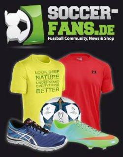 Bis zu 50%! Zusätzliche 25% Rabatt auf alle Artikel @Soccer-Fans.de