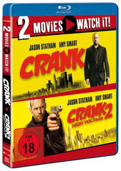 Blu-ray Doppelpack: Crank & Crank 2: High Voltage 12,98 inkl. Versand – Verglpr. ab 18,99€ @media-dealer.de