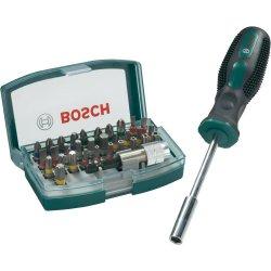 Bosch 32-tlg. Bit-Set + Bithalter Schraubendreher für 11,99 Euro (statt 22,89 Euro bei Idealo) bei eBay