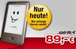 Bücher.de : Tolino Shine für 89,- Euro