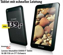 Cebit Ausverkauf bei Conrad.de mit 5,55€ Gutschein und versandkostenfrei, z.B. Lenovo IdeaTab 7″ für 133,45€ [Idealo: 159€]