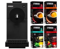 CREMESSO Cremesso Uno Bundle carbon black inkl. 4 Packungen Kapseln 33€ statt 61,50€inkl Versand@mediamarkt