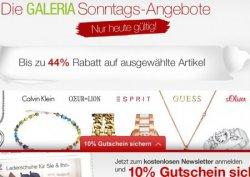 Die Galeria Kaufhof Sonntags Angebote vom 09.03.2014