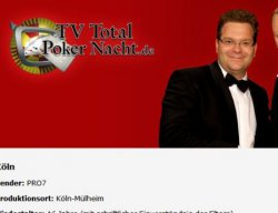 Die TV Total Pokerstars.de Nacht – Gratis Tickets
