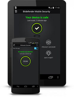 Für 6 Monate Bitdefender Mobile Security (Android) kostenlos@ bitdefender.com