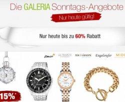 Galeria Kaufhof Sonntags Angebote vom 16.03.2014