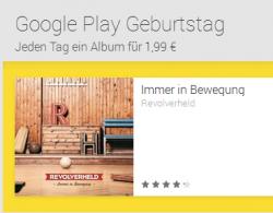 Google Play feiert 2. Geburtstag.- Filme und Musik ab 2 € von Katy Perry, Placebo, Avicii oder Ellie Goulding