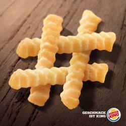 Gratis große Portion King Pommes + 0,5l Softdrink für Euer Feedback (ab sofort) und am 15. und 16. März kostenlose Fritten bei Burger King @bk-feedback-de.com