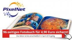Gutschein einlösen und 38,50 Euro sparen! – Jetzt 96-seitiges Fotobuch 1,95€ ( 2,95€ Versandkosten) bestellen @Computerbild meets Pixelnet
