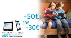HP Tablets mit bis zu 50€ Rabatt WEEKEND AKTION @HP Store
