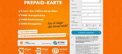 Kostenlos: Werbefinanzierte Internet-Flat im E-Plus Netz | Simyo Prepaid Karte