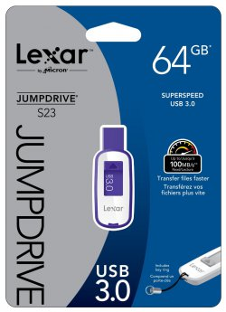 Lexar 64GB 100MB/s USB 3.0 Speicherstick für 21,99 € inkl. Versand (33,67 € Idealo) @Amazon