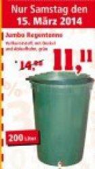 Lokal 200 Liter Regentonne Mit Auslaufhahn Und Deckel Fur 1111 EUR Am