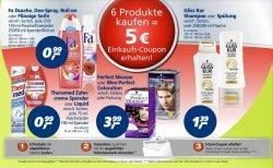 [LOKAL] 6 Produkte kaufen und 5€ Einkaufsgutschein erhalten gültig ab 31.04 @real,-
