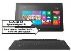 [LOKAL] MICROSOFT Surface RT 64 GB + Touchpad für 333€ [idealo 469€] @Mediamarkt