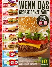McDonald: neue Gutscheine gültig bis 30.03. bis 50% sparen