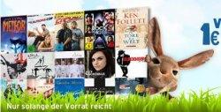 Medimops.de: Die verrückten 1€ Osterdeals zzgl. Versandkosten, z.B. Illuminati von Dan Brown