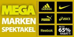 Mega Marken Sale mit bis zu 65% Rabatt @Plutosport
