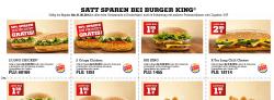 Neue Burger King Gutscheine z.B Long Chicken 2 für 1 @Burger King