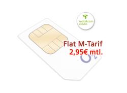 O2 Flat-M 3 Fach Flat mit 300MB Internetflat für 2,95€ mtl. @mediaspar.tv