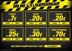 Planet Sports Lagerverkauf – Ab 7€ | zzgl. 5€ Gutscheincode MBW 25€ | 20€ Gutscheincode MBW 100€