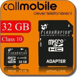 Prepaidkarte mit 10€ + 32GB Micro SDHC class 10 Karte und SD Adapter nur 2,95€ @eBay