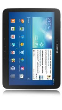 Samsung Galaxy Tab 3 (10.1 Zoll, 16GB, WiFi, 3G) + BASE Internet für 11€ mtl. @logitel