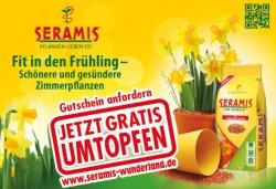 Seramis: kostenlos 2,5 Liter Seramis für Anmeldung erhalten