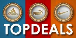 Top Deals – Rabatt auf Adidas, Nike und Puma Produkte @PlutoSport