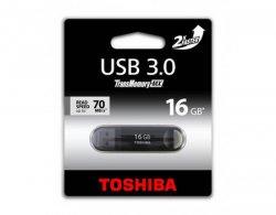 Toshiba 16GB USB 3.0 schwarz für 7,35€ kostenloser Versand [idealo 14,30€]@ MeinPaket