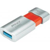 USB-Stick 128 GB PNY Wave Attache USB 3.0 für 44,28€ (Dealtext lesen!) [idealo 49,95€] @voelkner