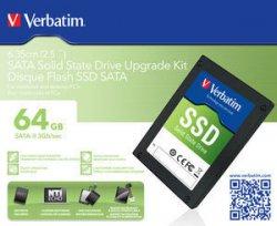Verbatim  2,5-SATA-II-SSD- USB3.0 – 64GB/128/256 ab 25,49€ zzgl. Versandkosten @Verbatim