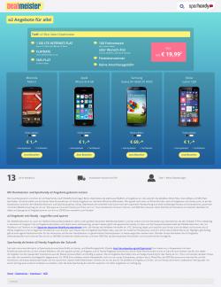 Vertrag o2 Blue Select inkl. gutem Smartphone,1GB LTE, 100 Minuten, SMS-Flat für 19,99€ / Monat (effektiv  ab 5,45€ ohne Handy). @sparhandy