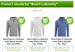 """Wieder da! Bench Herren Hoody """"Lobotomy"""" für 19,16€ statt 44,95€ inkl. Versand durch 20% Gutschein @Zavvi"""