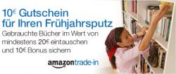 10€ Gutschein sichern beim Verkauf von alten Büchern @Amazon